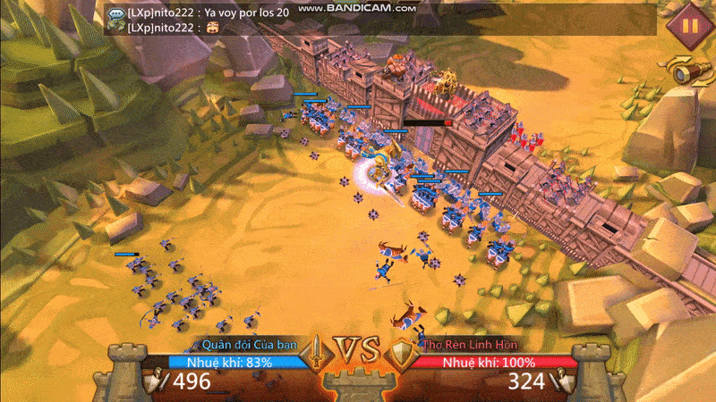 Đồ họa game lords mobile